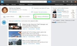 Bloggen auf LinkedIn